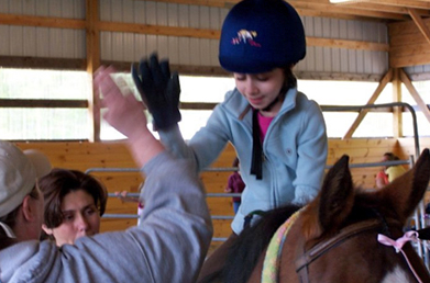 High Five While Riding